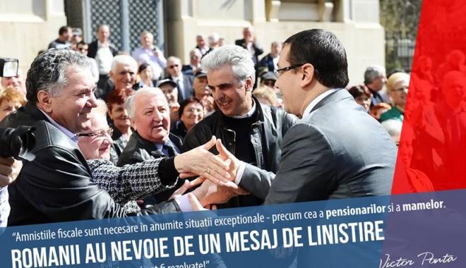 Foto: Cum arată o zi de campanie electorală a premierului Victor Ponta