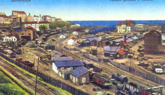 Foto: Cum era organizată munca hamalilor din portul Constanța