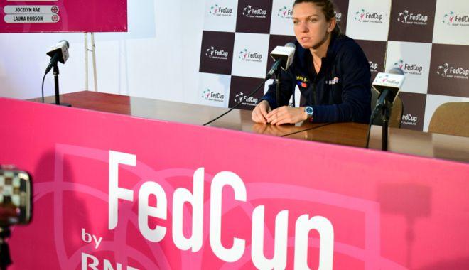 Foto: Cum motivează Simona Halep absenţa de la Fed Cup