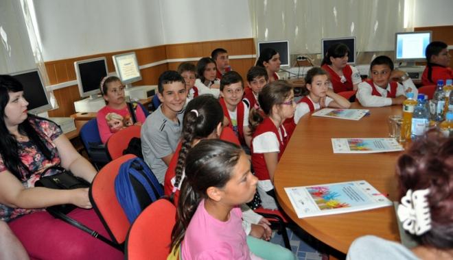 Foto: Proiectul Centrului  Socio-Educativ  din Cumpăna, la final