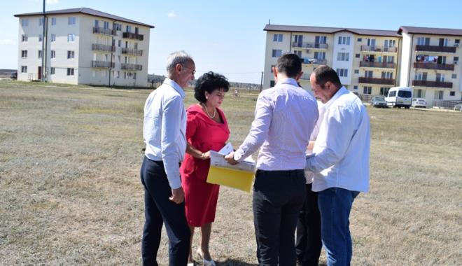 Foto: Primăria Cumpăna, planuri pentru noi locuinţe ANL