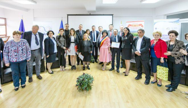 """Foto: """"Proiectele finanțate prin programele europene sunt de o importanță capitală pentru mediul rural"""""""