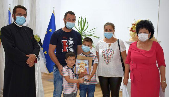 Foto: Primăria Cumpăna a repartizat două locuințe ANL noilor chiriași