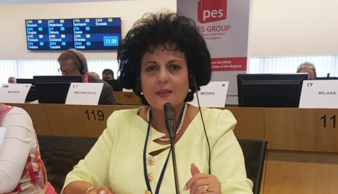 Foto: România, reprezentată  de primarul Mariana Gâju  la Comitetul European  al Regiunilor