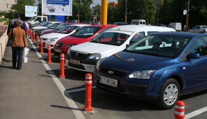 Foto: Cum îţi poţi rezerva locul de parcare,  în Constanţa