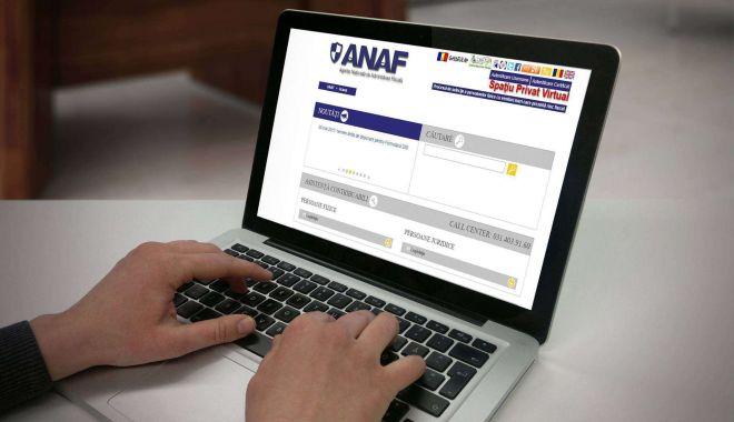 Foto: Cum se pot înscrie contribuabilii persoane fizice în Spațiul Privat Virtual al ANAF