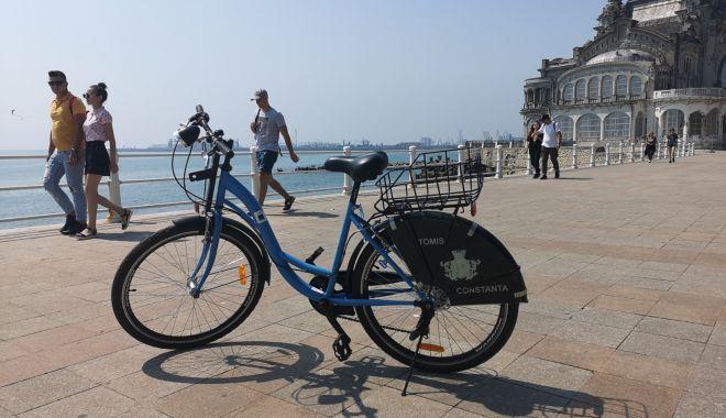 Foto: Cum te poţi plimba gratuit cu bicicleta, prin Constanţa şi Mamaia