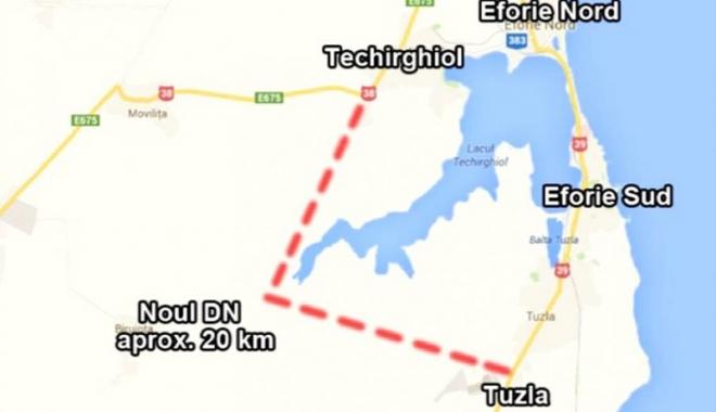 Foto: Cum va arăta drumul expres spre sudul litoralului