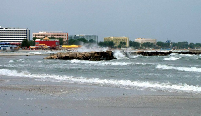 Foto: Cum vor arăta plajele din Constanţa după lucrările de stopare a eroziunii costiere