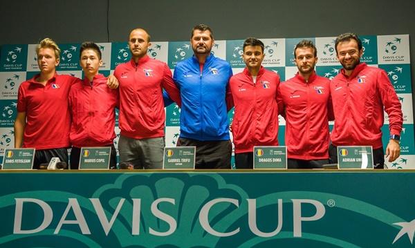 Foto: Cupa Davis. Echipa din Zimbabwe, necunoscută pentru tricolori