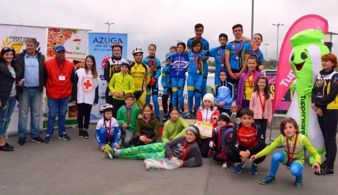 Foto: Prima etapă a Cupei Mării Negre la ciclism şi-a desemnat câştigătorii