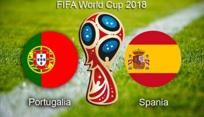 Foto: CM 2018. Portugalia - Spania 3-3, în primul şoc al turneului final din Rusia