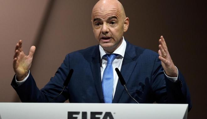 Foto: Decizia FIFA nu este văzută cu ochi buni de europeni