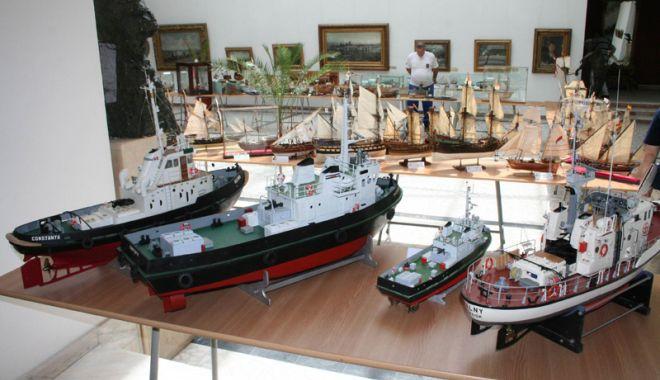 Foto: Expoziţie  de modelism la Muzeul Marinei Române