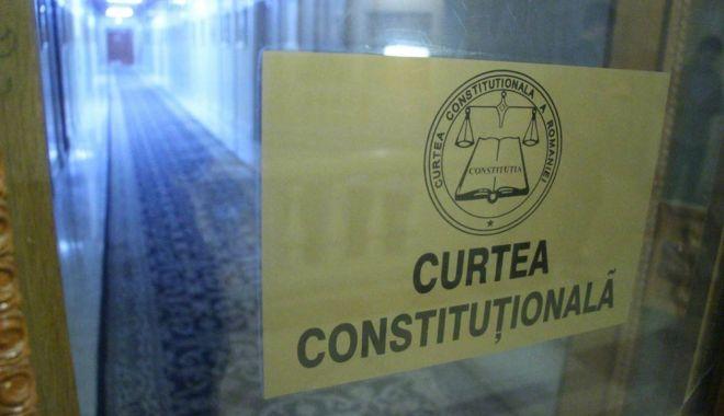 Foto: CCR: Statutul magistraților, parțial neconstituțional
