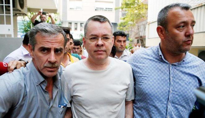 Foto: Curtea Constituţională a Turciei, sesizată în cazul pastorului american Andrew Brunson