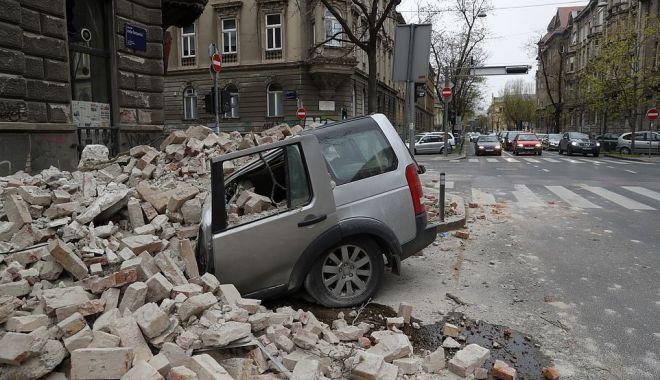Foto: Galerie foto. Cutremur puternic în Croația. Cum arată Zagrebul după dezastru