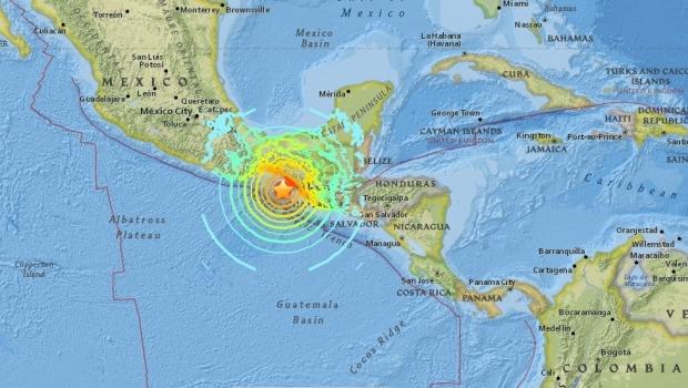 Foto: Cel mai puternic cutremur din ultimii 32 de ani! 8 ţări, în alertă de tsunami