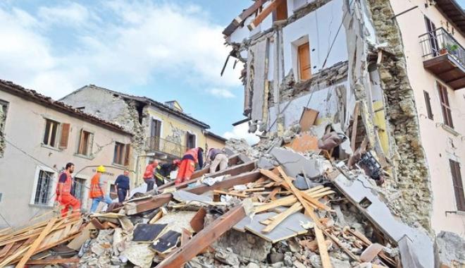 Foto: Coşmarul din Italia continuă. CUTREMUR de 4,2 grade în Amatrice