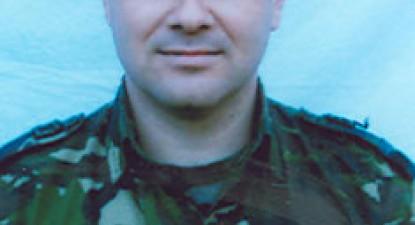 Foto: Militar rom�n, mort �n Afganistan
