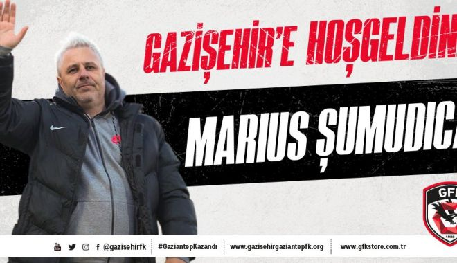 Foto: Oficial! Marius Şumudică va antrena echipa Gazişehir Gaziantep din Turcia