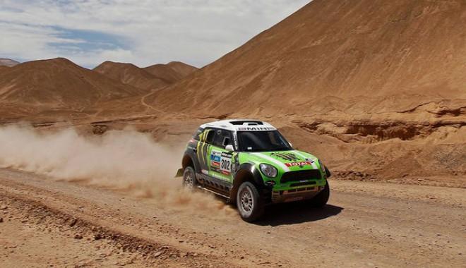 Foto: Sean Penn a cerut boicotarea Boliviei  în raliul Dakar