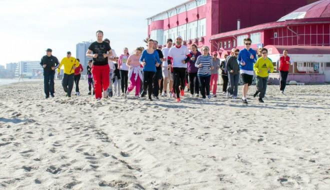 Foto: Dacă e week-end, e… Maratonul Nisipului!