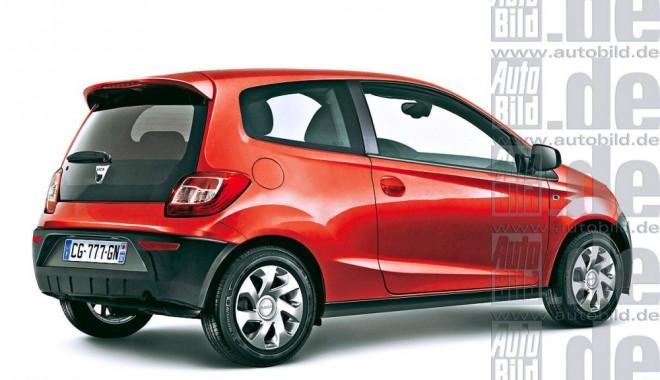 Foto: Galerie foto / Au apărut primele imagini cu Dacia Mini! Modelul de oraş va costa 5000 de euro