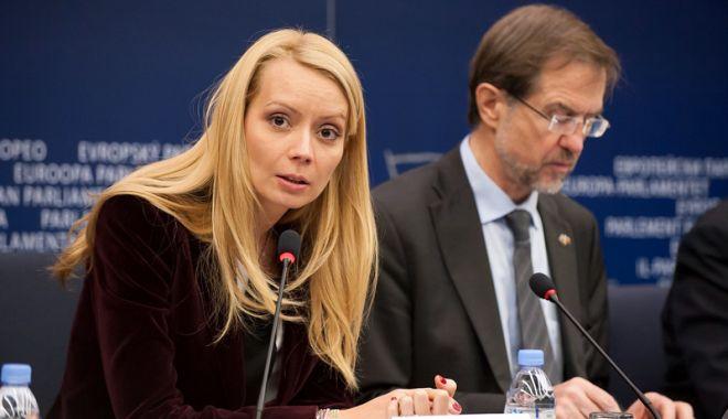 Foto: Daciana Sârbu, desemnată raportor la Parlamentul European
