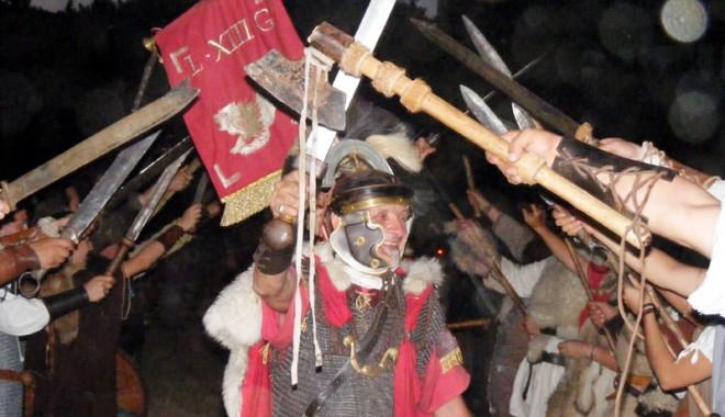 Foto: Tomisul s-a întors în vremea dacilor și romanilor
