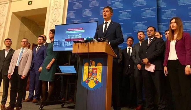 """Foto: """"Referendumul va demonstra că România s-a săturat de minciună"""""""
