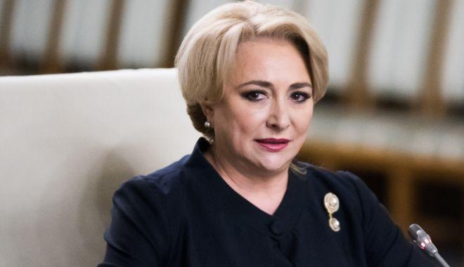 Foto: Dăncilă: Nu-mi dau demisia atât timp cât mă susţin preşedintele PSD şi coaliţia