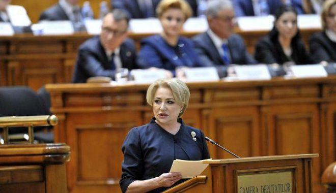 Foto: Viorica Dăncilă nu vrea restructurarea Guvernului: Sper să îi conving pe colegii din CEx al PSD să susţină remanierea