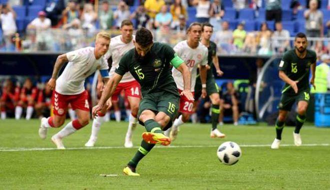 Foto: CM 2018. FIFA a amendat Federaţia daneză pentru incidentele de la meciul cu Australia