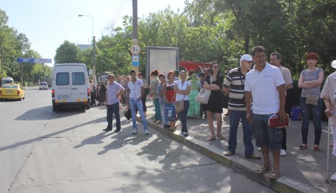 Foto: GREVĂ SPONTANĂ LA RATC/ Negocierile cu greviștii AU EȘUAT!