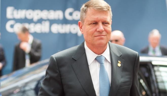 Foto: Klaus Iohannis participă la reuniunea NATO de la Bruxelles