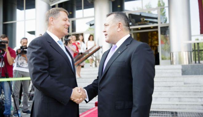 Foto: Summitul Iniţiativei celor Trei Mări. Klaus Iohannis şi Mihai Daraban au deschis Forumul de Afaceri