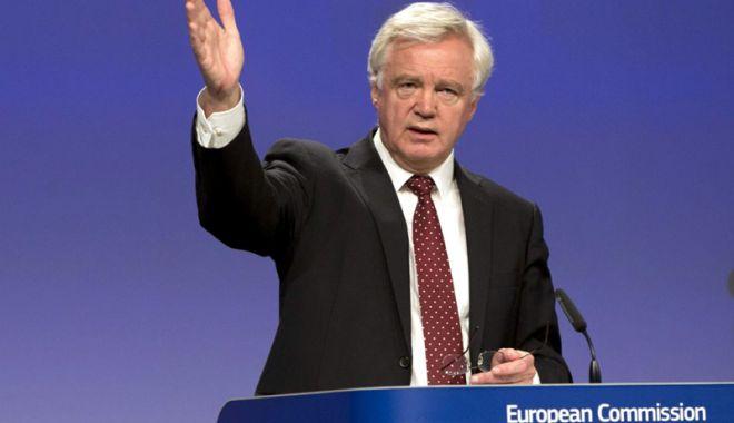 Foto: David Davis acuză UE că ameninţă securitatea europeană prin dogmatism