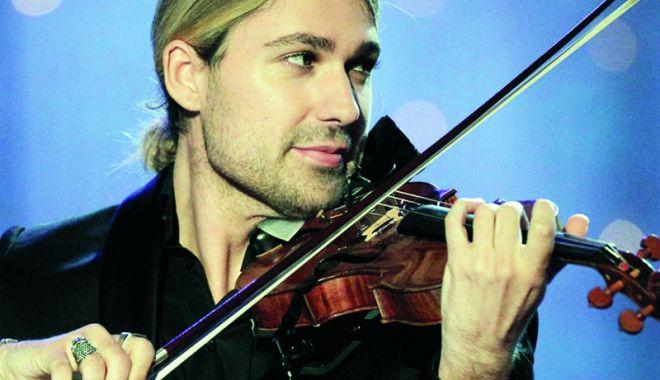Foto: David Garrett, două concerte senzaţionale, la Bucureşti
