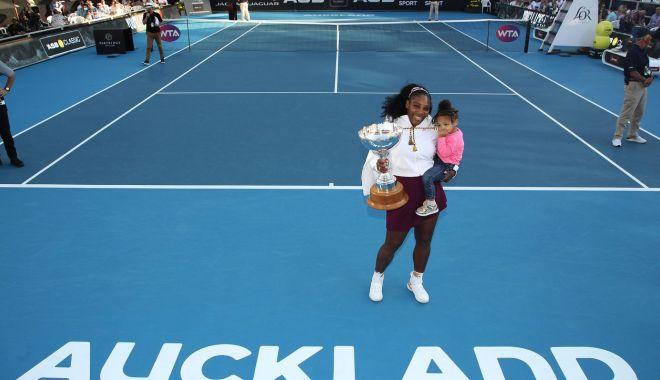 Foto: Primul turneu câștigat după 3 ani! Serena Williams s-a impus la Auckland