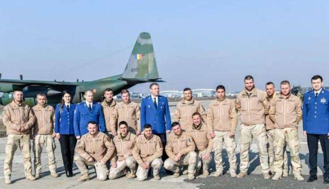Foto: S-au întors acasă din Afganistan! Au desfășurat zeci de misiuni NATO