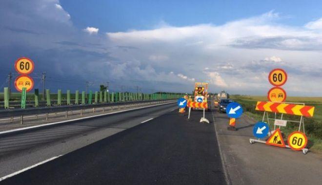 Foto: ATENȚIE, ȘOFERI! Restricții de circulație pe A2