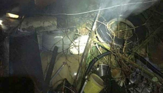 Foto: Descoperire macabră în timpul unei intervenții a pompierilor