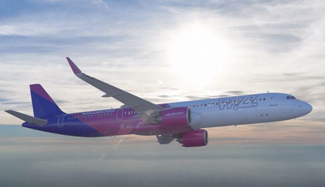 Foto: Aeronavă Wizz Air sosită la Craiova, scoasă din funcțiune. Vezi motivul!