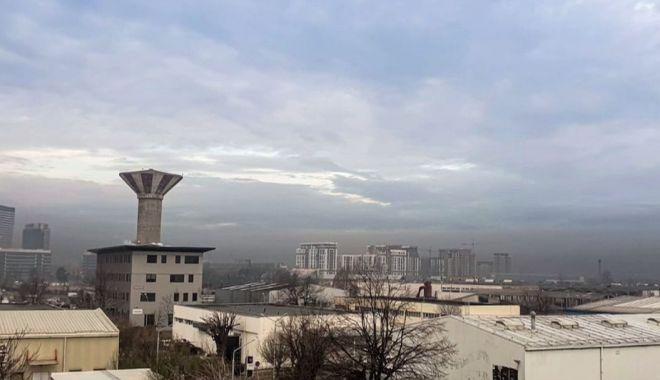 Foto: Nivel periculos de poluare. Sănătatea populației poate fi afectată!