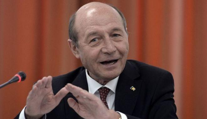 """Foto: Traian Băsescu, atac dur la adresa lui Vergil Chițac: """"Un iresponsabil"""""""