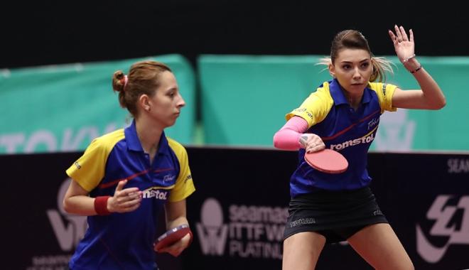 Foto: Debut cu dreptul pentru tricolore, la CE de tenis de masă