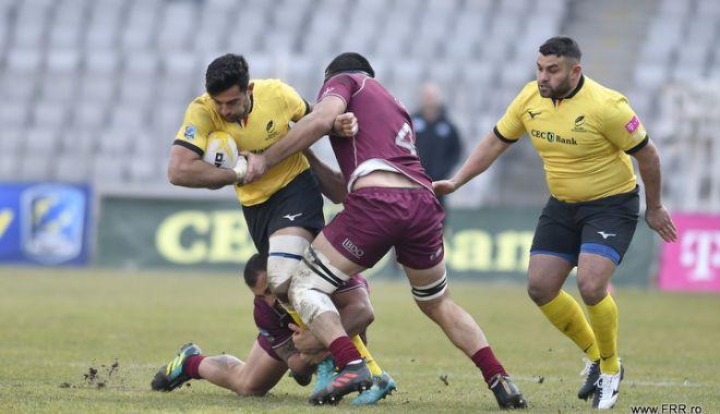 Foto: Debut trist pentru naţionala României, la Rugby Europe International Championship