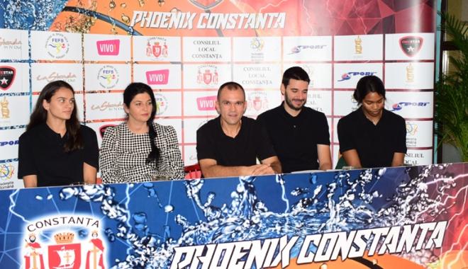 Foto: Debut de foc pentru CS Phoenix Constanţa, în Liga l de baschet feminin