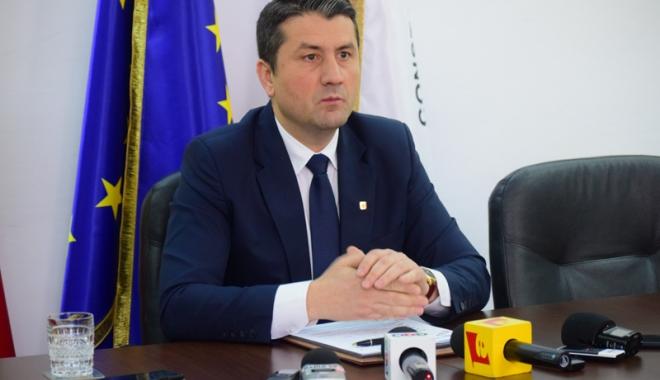Foto: Edilul Decebal Făgădău, prezent  la seminarul  privind strategiile  de urbanizare